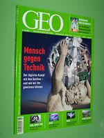 Geo Magazin - Mensch gegen Technik Iran Tierfutter Forschung Kagu - Nr.5 / 2005