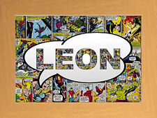 Boys & Girls Comic Book Heroes Wall Hangings for Children