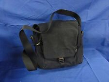 New with tags Mandarina Duck Frog Dark Blue Hanging travel Case Made in Italy