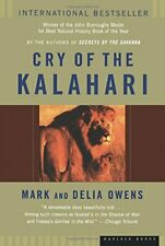 Cry of the Kalahari by Owens, Delia Paperback Book The Fast Free Shipping