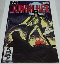 JONAH HEX #89 BLOOD LEGACY (DC Comics 1985) Mark Texiera art (FN) RARE
