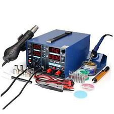 853D 2A USB SMD Hot Air Rework Soldering Iron Station, DC Power Supply 0-15V 0-