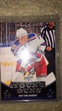 10-11 UPPER DECK SERIES 1 HOCKEY YOUNG GUNS -#238 DEREK STEPAN ROOKIE CARD RC
