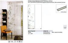 Schiebevorhang Uni weiß 60x245 Cm