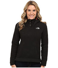 New Womens The North Face Fleece Jacket Crescent Hoody Black Medium