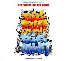 Music that inspired Big Fun In a Big Town CD old school rap T La Rock Mantronix
