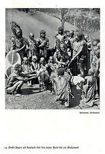 Frauenkauf bei den Massai * Stolzer Preis von Sechs Ziegen  Bilddokument um 1938