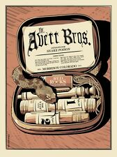 The Avett Brothers 2013 Red Rocks Co Poster Signed & Numbered Matching #300 Set