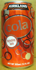 KIRKLAND SIGNATURE COLA empty Soda CAN, Costco Wholesale, Seattle, WASHINGTON 1+
