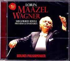 Lorin MAAZEL: WAGNER Rienzi Faust Overture Siegfried Idyll Rheinfahrt Lohengrin