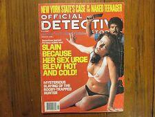 "Jan, 1977 ""Official Detective Stories"" Magazine(MICHAEL  WADE/PAUL  M. BRUMFIELD"