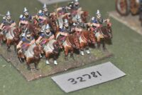 25mm biblical / assyrian - heavy 10 figures - cav (32781)