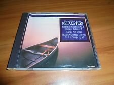 Classics for Relaxation (CD, 1995, Madacy) Used Mozart,Beethoven,Schubert