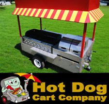 Hot Dog Cart Vending Concession Trailer Stand New Grand Master Hot Dog Cart