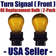 Front Turn Signal Light Bulb 2pk - Fits Listed Toyota Vehicles - 3457NA/3357NA