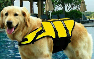 Dog Life Vest Safety Float bull mastiff akita great dane Dog Life Preserver New