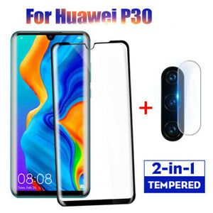 For Huawei P30 PRO P30 LITE Full Cover Tempered Glass Screen Protector Quality