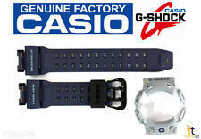 CASIO G-Shock GR-9110ER-2 NAVY BLUE Rubber Watch BAND & BEZEL Combo GW-9110ER-2