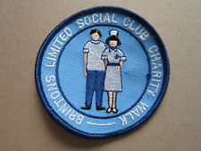 Brintons Charity Walk Walking Hiking Cloth Patch Badge (L3K)