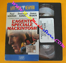 VHS film L'AGENTE SPECIALE MACKINTOSH il grande cinema Paul Newman (F113) no dvd