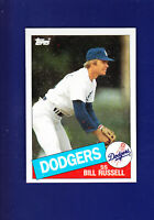 Bill Russell 1985 TOPPS Baseball #343 (NM+) Los Angeles Dodgers