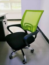 Pre-owed Fabric Chair Upholstered Home OfficeUsed