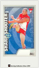 2009 AFL Herald Sun Cards Sharp Shooters Subset SS14 Barry Hall (Sydney)