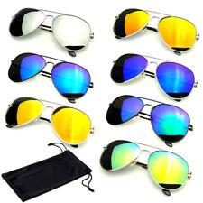 Polarized Sunglasses Mens Womens Mirror Mirrored Classic Frame Sports Sunglasses