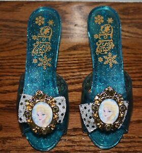 Disney Frozen Elsa Dress Up Shoes for Little Girl