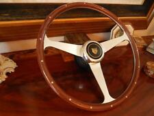 "Jaguar XJ12 1990 - 92 Wood Steering Wheel Nardi  Fit Airbag Model Rivets 15"" New"