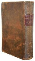 Antique 1848 History of Cosmopolite Lorenzo Dow's Journal Leather Book 9""