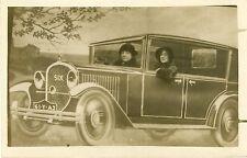 """Voiture SIX vers 1930"" Carte postale originale"