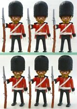 playmobil 4577 royal guards X6 figures rare lot custom toys play bid Sealed New