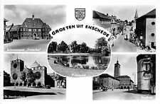 BG8226 groeten uit enschede stadhuis volkspark  netherlands CPSM 14x9cm