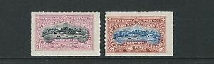 NEW HEBRIDES 1894-97 PORT VILA INTERISLAND POSTAGE LOCALS (1d/2d) VF MH LOT 1