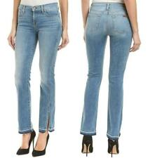 NWT 7 For All Mankind Dylan Straight Leg Released Hem Jeans 25 Lafyette
