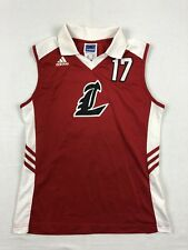 adidas Louisville Cardinals - Red Poly Jersey (Multiple Sizes) - Used
