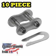 35 SS Stainless Steel Roller Chain Connecting Link (10PCS)