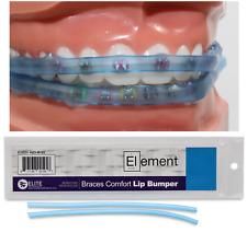 ELEMENT BRACES COMFORT LIP BUMPER (BLUE) MOUTH GUARD FOR BRACES ORTHODONTIC