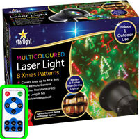 Outdoor Laser Lights Star Led Projector Christmas Shower Patterns Remote Control