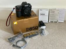 Nikon D850 Digital Camera Body - 3900 Shutter Ct - Excellent Condition + EXTRAS