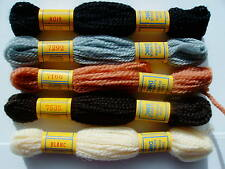 DMC TAPESTRY THREADS 5 assorted colors (set F)