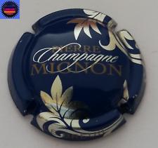 Capsule de Champagne PIERRE MIGNON Bleu, Feuillles Argent !!!!!