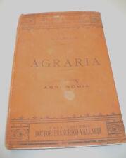 BIBLIOTECA VALLARDI -  AGRARIA  AGRONOMIA di N. PASSERINI