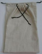 100% Cotton Flannel Handmade Travel Shoe Bag Storage Bag Eco-Friendly 2 piece