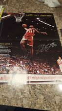 2004 LEBRON JAMES LARGE SI FOR KIDS POSTER