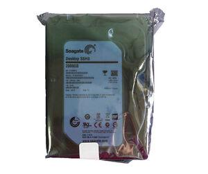 "Seagate (ST2000DX001) 3.5"" SSHD 2TB SATA 6Gb Solid State Hybrid Drive Desktop"