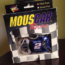 1990 MousCar Racing Computer Mouse NASCAR Miller Lite #2 Rusty Wallace PS2 DOS