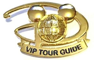 Disney - Cast Member - VIP Tour Guide Pin/Badge