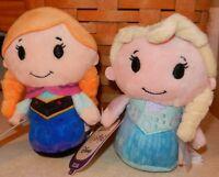 Hallmark Disney Frozen Itty Bittys Anna & Elsa Set of 2 Plush